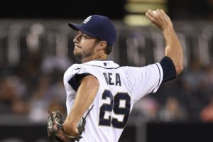 Colin Rea prp treatment for San Diego Padres
