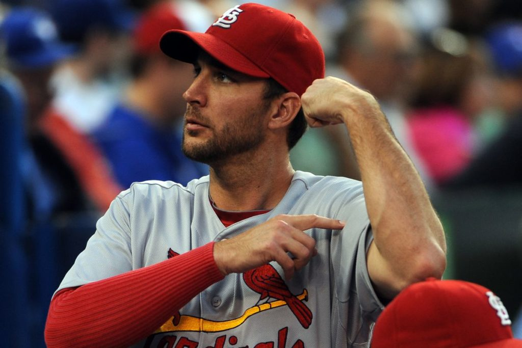 Adam Wainwright PRP in Right Elbow